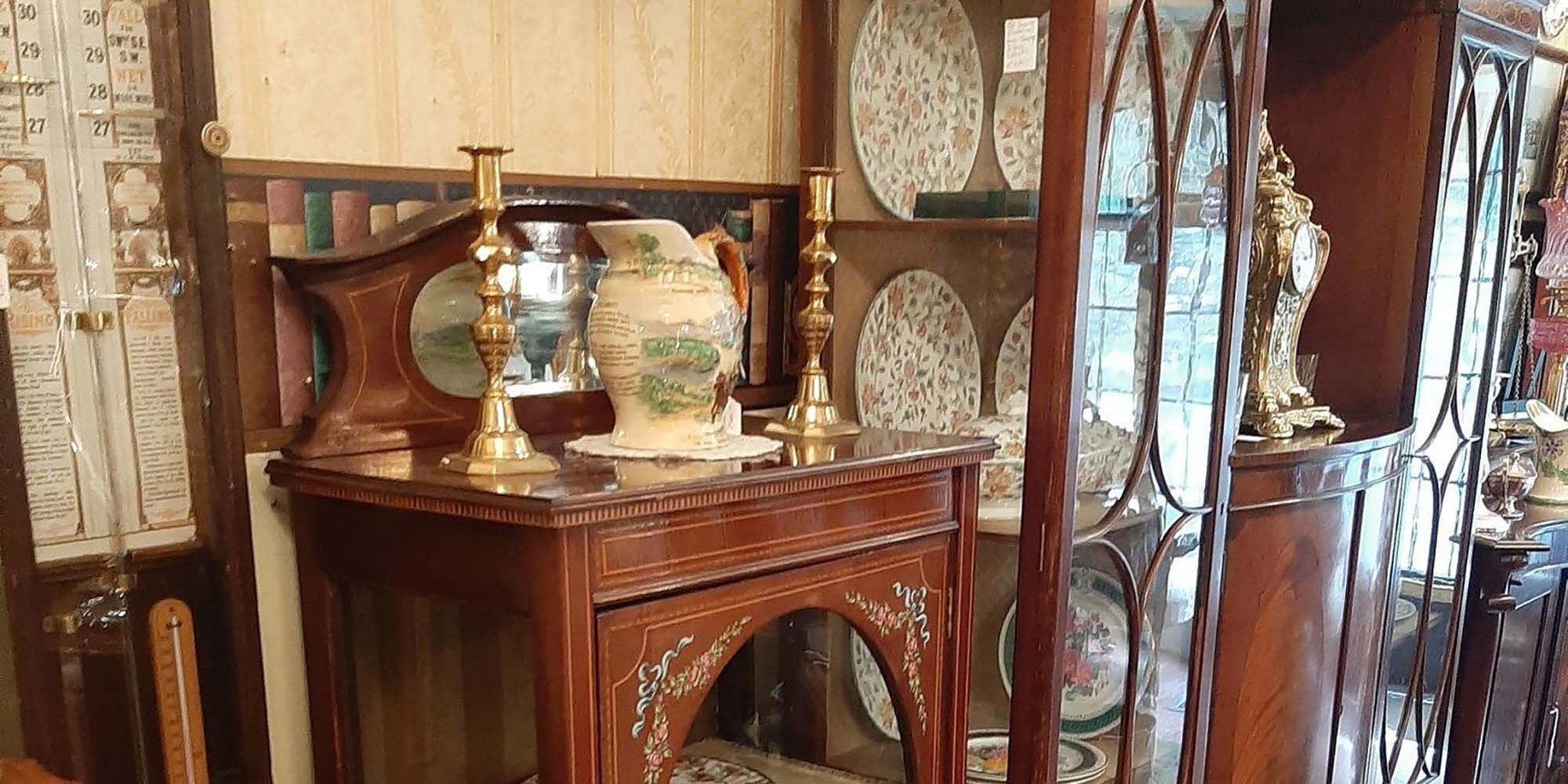 Antiques centre in Glaslough, Monaghan